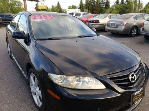 2004 Mazda MAZDA6 for sale at BELOW BOOK AUTO SALES in Idaho Falls ID