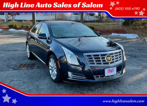 2013 Cadillac XTS for sale at High Line Auto Sales of Salem in Salem NH