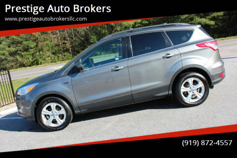 2013 Ford Escape for sale at Prestige Auto Brokers in Raleigh NC