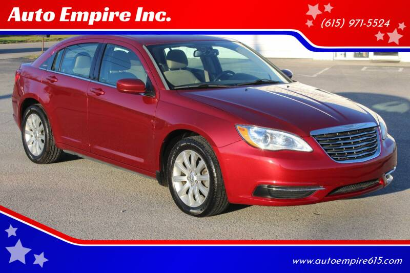 2013 Chrysler 200 for sale at Auto Empire Inc. in Murfreesboro TN