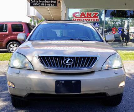 2009 Lexus RX 350 for sale at Carz Unlimited in Richmond VA