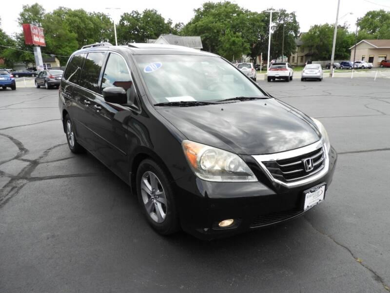 2010 Honda Odyssey for sale at Grant Park Auto Sales in Rockford IL