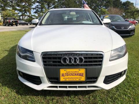 2012 Audi A4 for sale at Greenville Motor Company in Greenville NC