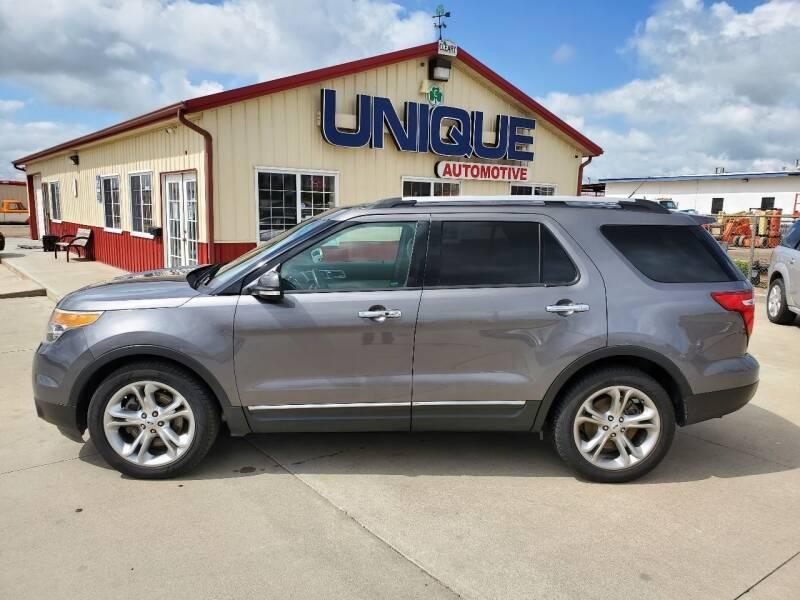 """2014 Ford Explorer for sale at UNIQUE AUTOMOTIVE """"BE UNIQUE"""" in Garden City KS"""