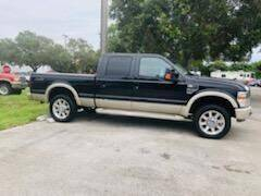 2008 Ford F-250 Super Duty for sale at DAN'S DEALS ON WHEELS AUTO SALES, INC. in Davie FL