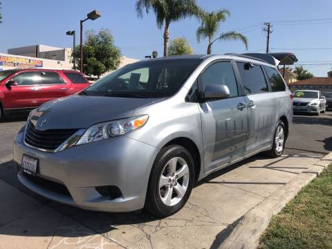 2013 Toyota Sienna for sale at MIKE AHWAZI in Santa Ana CA