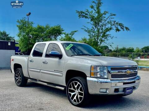 2012 Chevrolet Silverado 1500 for sale at Stanley Automotive Finance Enterprise - STANLEY DIRECT AUTO in Mesquite TX