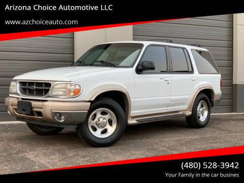 2001 Ford Explorer for sale at Arizona Choice Automotive LLC in Mesa AZ
