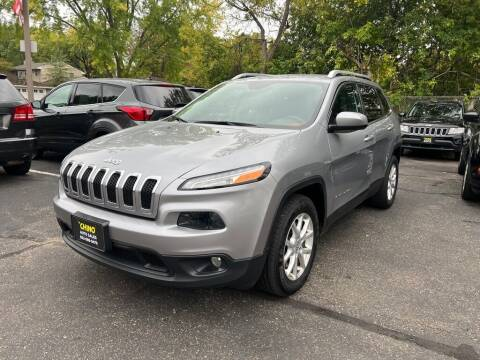 2014 Jeep Cherokee for sale at Chinos Auto Sales in Crystal MN
