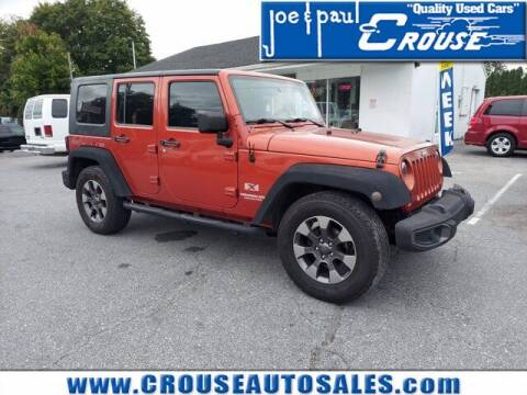 2009 Jeep Wrangler Unlimited for sale at Joe and Paul Crouse Inc. in Columbia PA