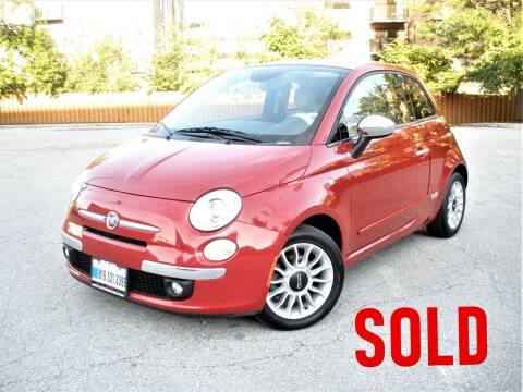 2015 FIAT 500c for sale at Autobahn Motors USA in Kansas City MO