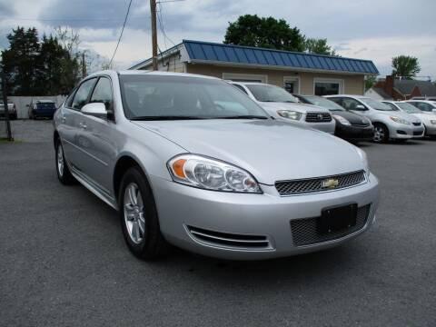 2012 Chevrolet Impala for sale at Supermax Autos in Strasburg VA