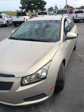2012 Chevrolet Cruze for sale at BRYANT AUTO SALES in Bryant AR