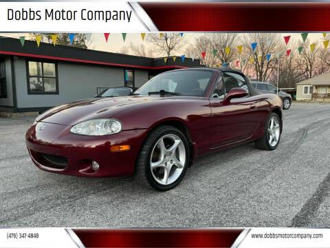 2003 Mazda MX-5 Miata for sale at Dobbs Motor Company in Springdale AR