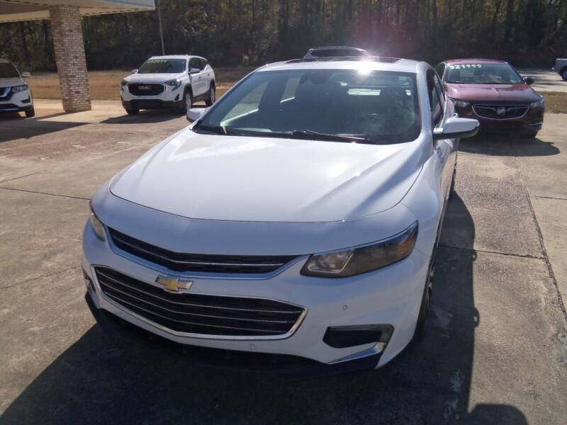 2016 Chevrolet Malibu for sale at Howell Buick GMC Nissan in Summit MS