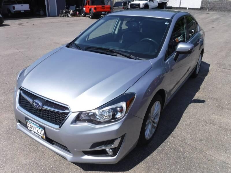 2015 Subaru Impreza for sale at J & K Auto - J and K in Saint Bonifacius MN