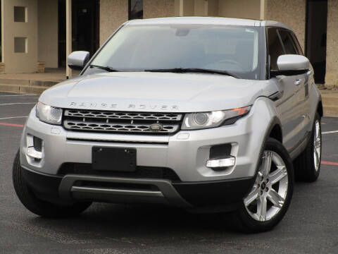 2013 Land Rover Range Rover Evoque for sale at Ritz Auto Group in Dallas TX