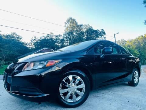 2012 Honda Civic for sale at Cobb Luxury Cars in Marietta GA
