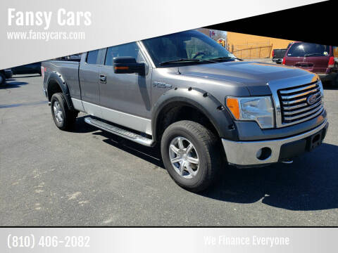 2010 Ford F-150 for sale at Fansy Cars in Mount Morris MI
