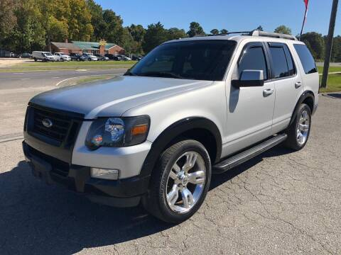 2010 Ford Explorer for sale at CVC AUTO SALES in Durham NC