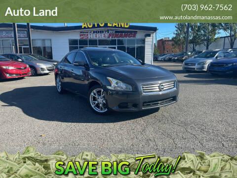2012 Nissan Maxima for sale at Auto Land in Manassas VA