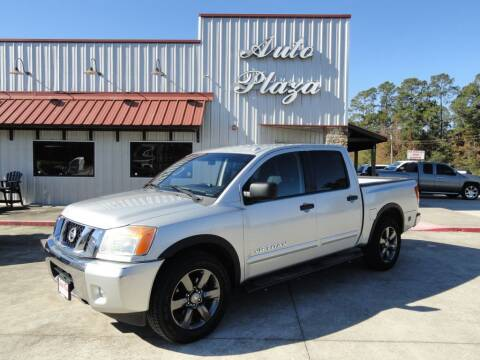 2015 Nissan Titan for sale at Grantz Auto Plaza LLC in Lumberton TX