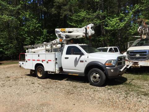 2011 RAM Ram Chassis 5500 for sale at M & W MOTOR COMPANY in Hope AR
