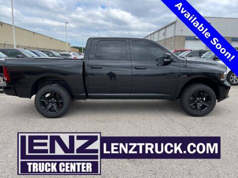 2017 RAM Ram Pickup 1500 for sale at LENZ TRUCK CENTER in Fond Du Lac WI