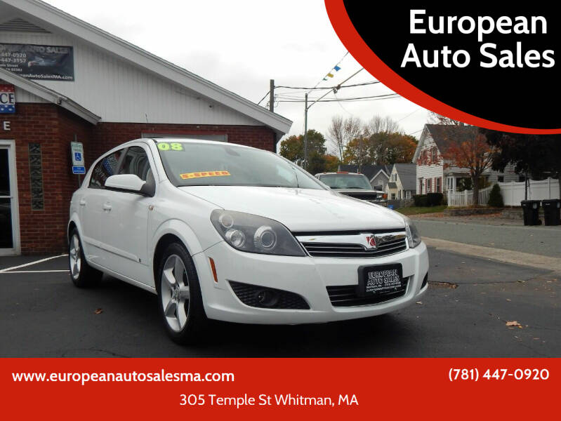 2008 Saturn Astra for sale at European Auto Sales in Whitman MA