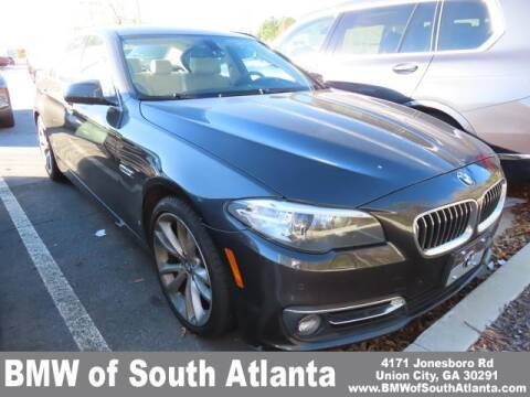 2015 BMW 5 Series for sale at Carol Benner @ BMW of South Atlanta in Union City GA