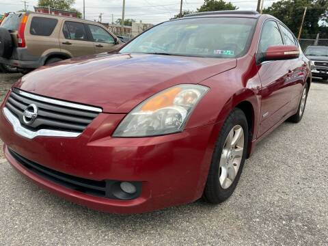 2008 Nissan Altima Hybrid for sale at Philadelphia Public Auto Auction in Philadelphia PA