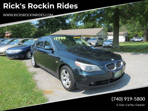2007 BMW 5 Series for sale at Rick's Rockin Rides in Reynoldsburg OH