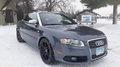 2008 Audi S4 for sale at Shores Auto in Lakeland Shores MN