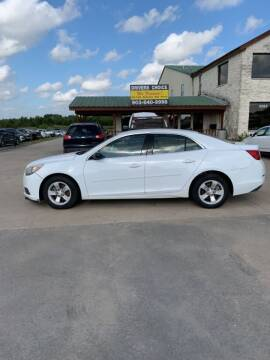 2013 Chevrolet Malibu for sale at Driver's Choice in Sherman TX