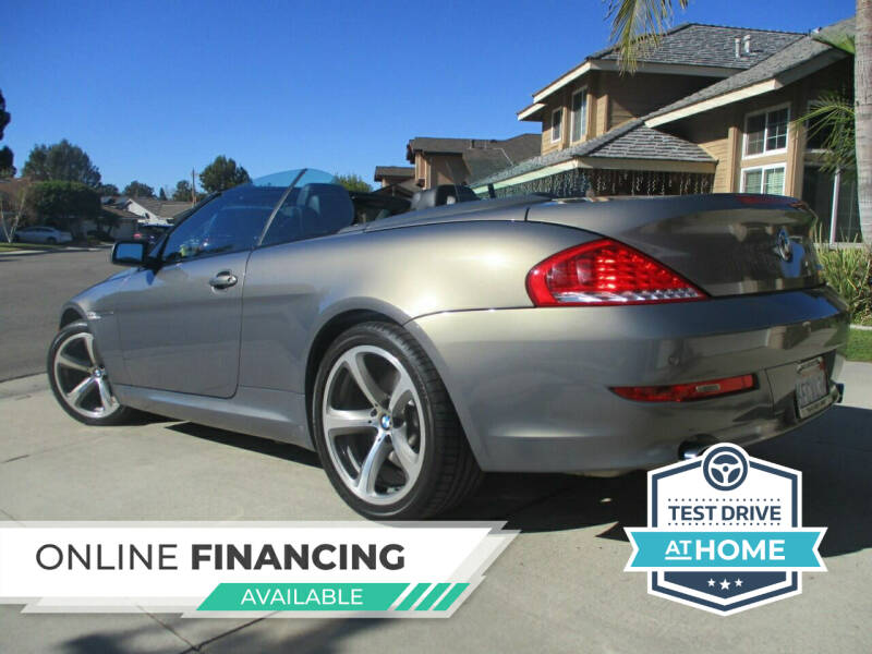 2008 BMW 6 Series for sale at Solutions Auto Sales Corp. in Orange CA