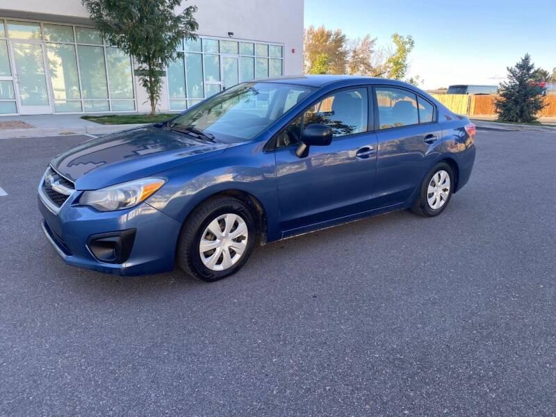 2013 Subaru Impreza for sale at AROUND THE WORLD AUTO SALES in Denver CO