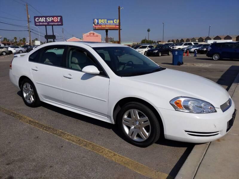 2012 Chevrolet Impala for sale at Car Spot in Las Vegas NV