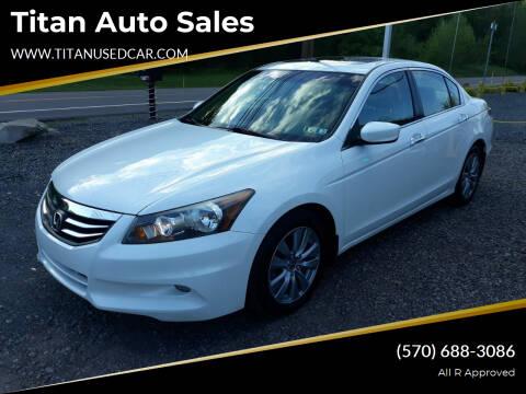 2012 Honda Accord for sale at Titan Auto Sales in Berwick PA