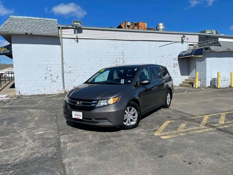 2015 Honda Odyssey for sale at Santa Motors Inc in Rochester NY