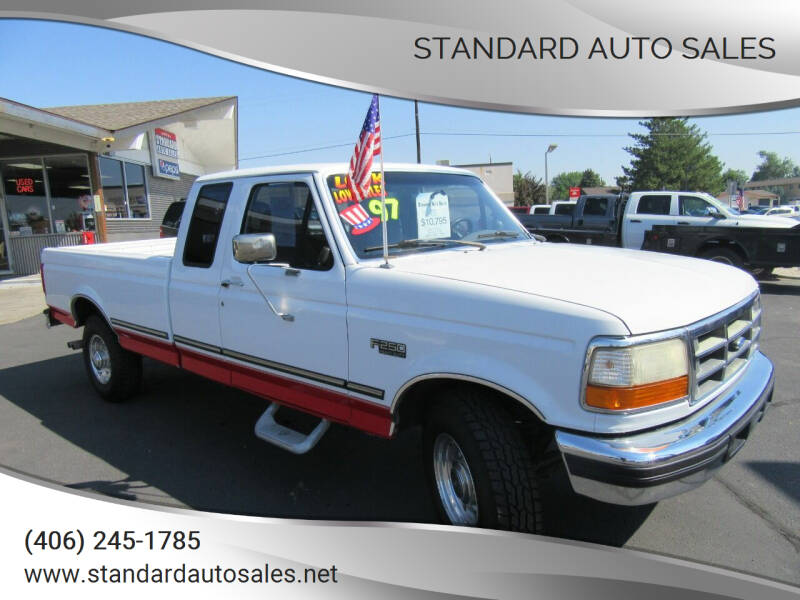 1997 Ford F-250 for sale at Standard Auto Sales in Billings MT