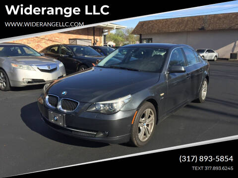 2010 BMW 5 Series for sale at Widerange LLC in Greenwood IN