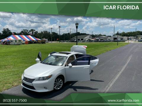 2014 Lexus ES 300h for sale at ICar Florida in Lutz FL