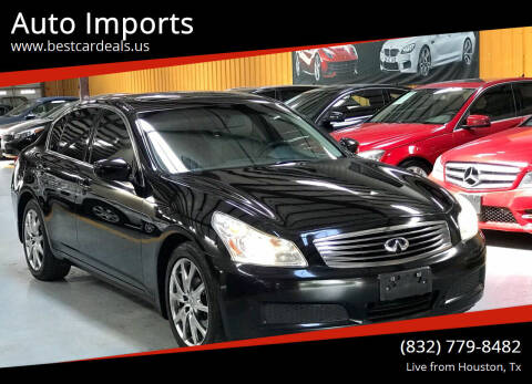 2009 Infiniti G37 Sedan for sale at Auto Imports in Houston TX