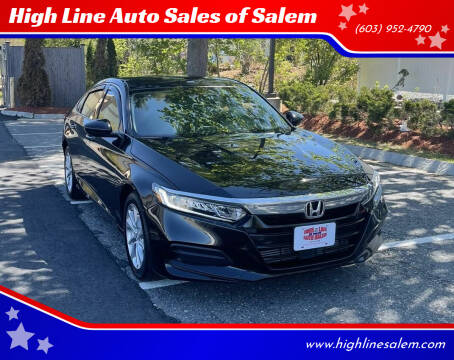 2019 Honda Accord for sale at High Line Auto Sales of Salem in Salem NH