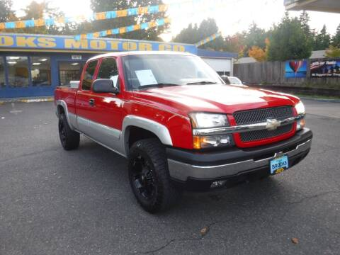 2004 Chevrolet Silverado 1500 for sale at Brooks Motor Company, Inc in Milwaukie OR