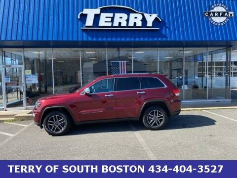 2019 Jeep Grand Cherokee for sale at Terry of South Boston in South Boston VA