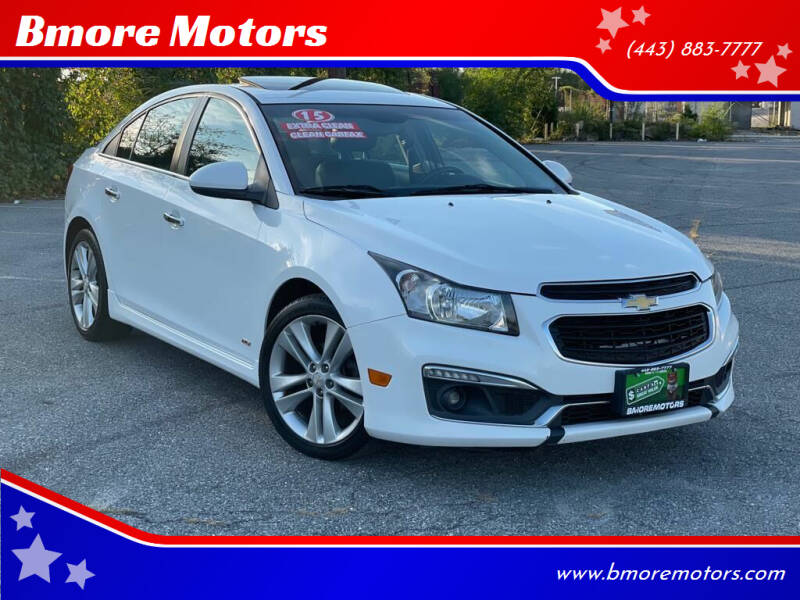 2015 Chevrolet Cruze for sale at Bmore Motors in Baltimore MD