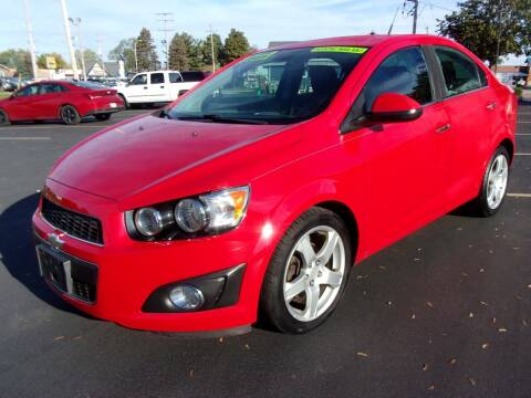 2012 Chevrolet Sonic for sale at Ideal Auto Sales, Inc. in Waukesha WI