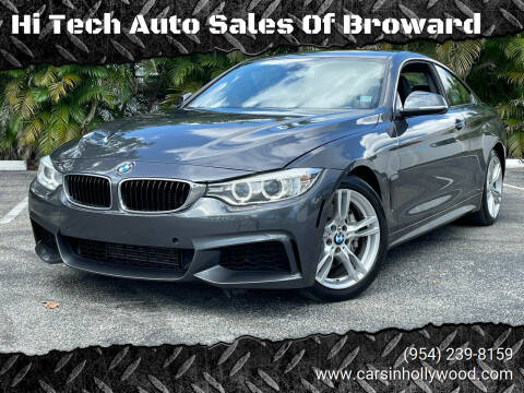 2015 BMW 4 Series for sale at Hi Tech Auto Sales Of Broward in Hollywood FL