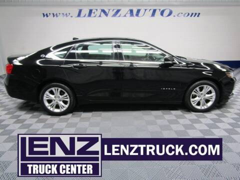 2014 Chevrolet Impala for sale at LENZ TRUCK CENTER in Fond Du Lac WI